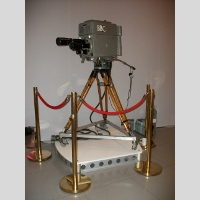 Golden Age TV Marconi Mk II Coronation Camer picture
