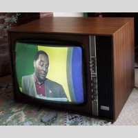 Thorn 3500 Colour TV picture